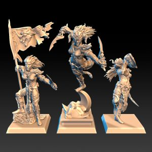 Brujas del Templo (Grupo de mando)