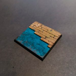 Peana Barco de Madera (40x40mm)