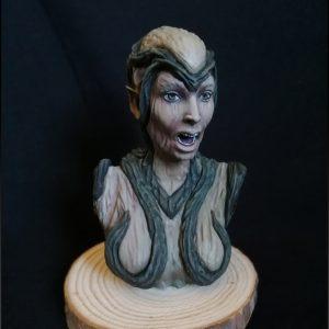 Busto Dríade / Dryad Bust -65mm
