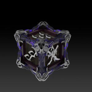 Set Dados Elfos de la Oscuridad